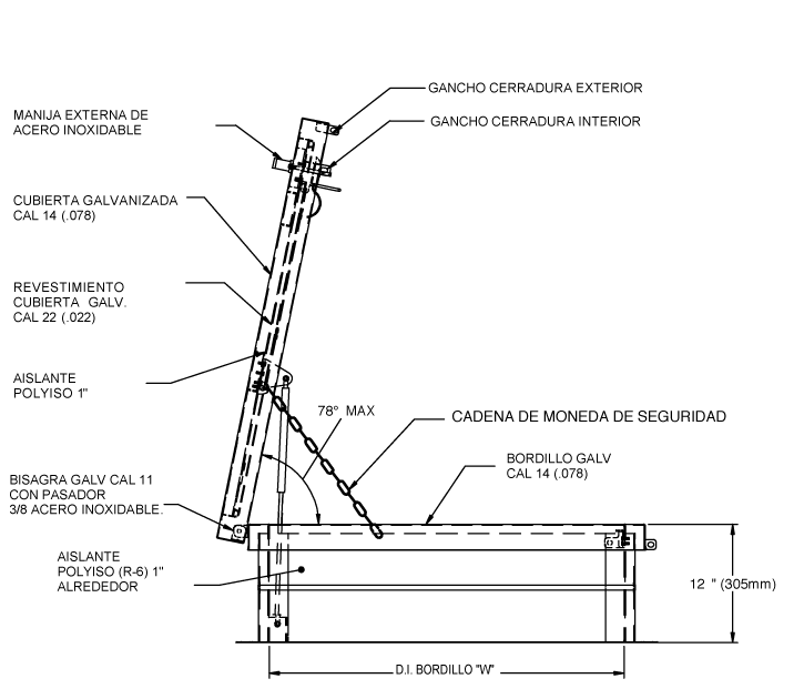 RHG Access Single schematic